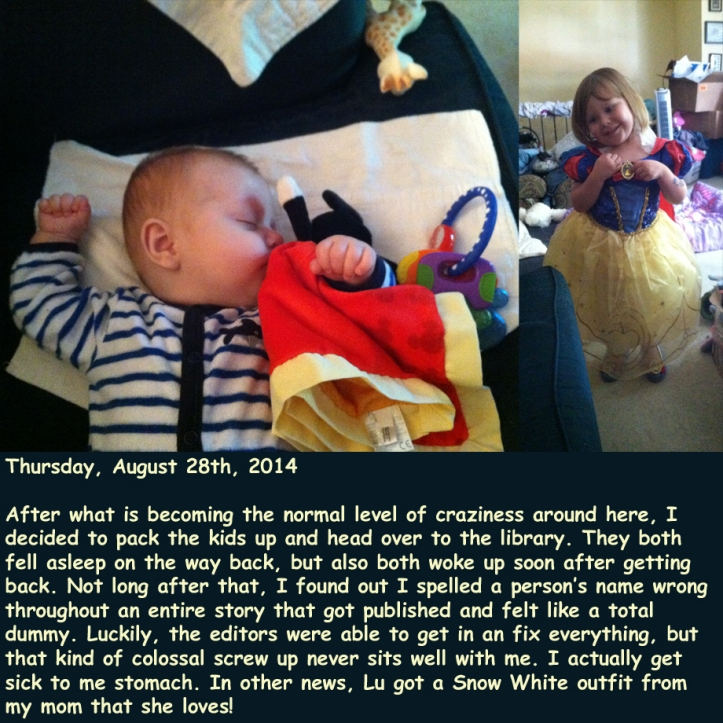 Thursday, August 28th, 2014