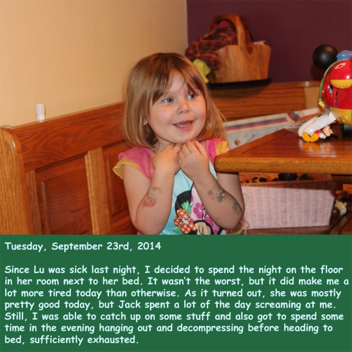 Tuesday, September 23rd, 2014