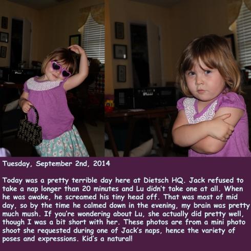 Tuesday, September 2nd, 2014