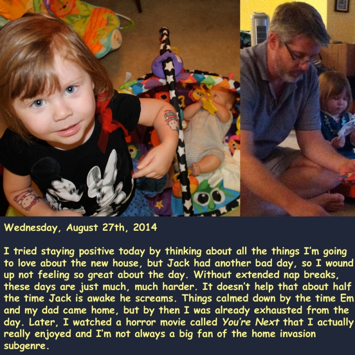 Wednesday, August 27th, 2014