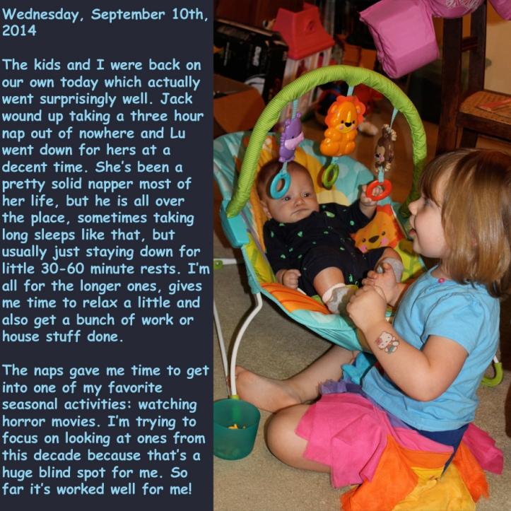 Wednesday, September 10th, 2014