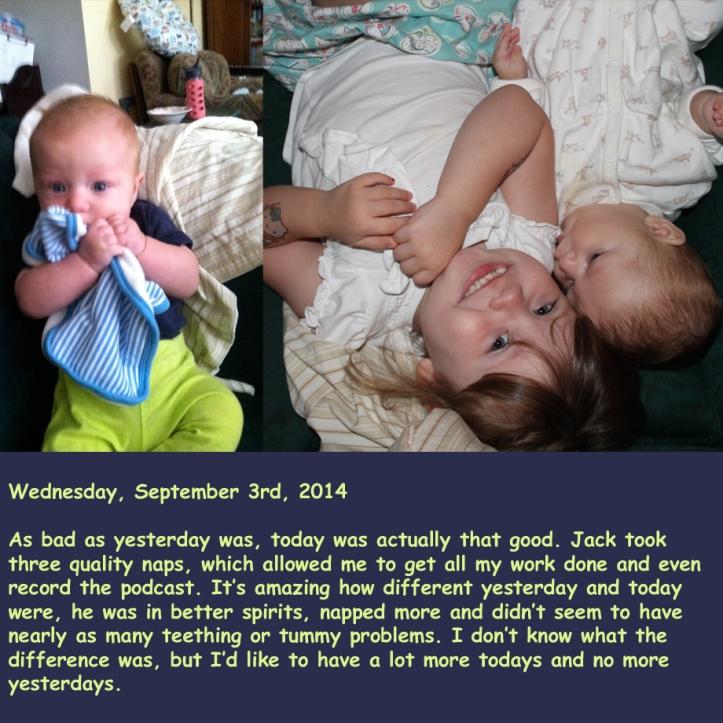 Wednesday, September 3rd, 2014