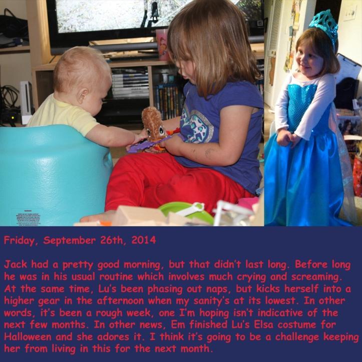Friday, September 26th, 2014