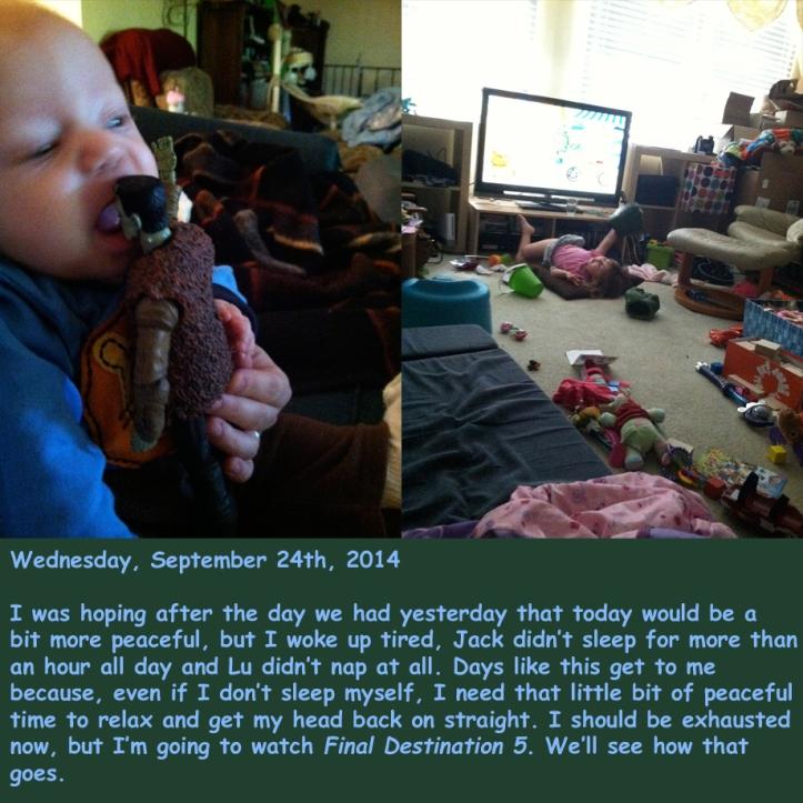 Wednesday, September 24th, 2014