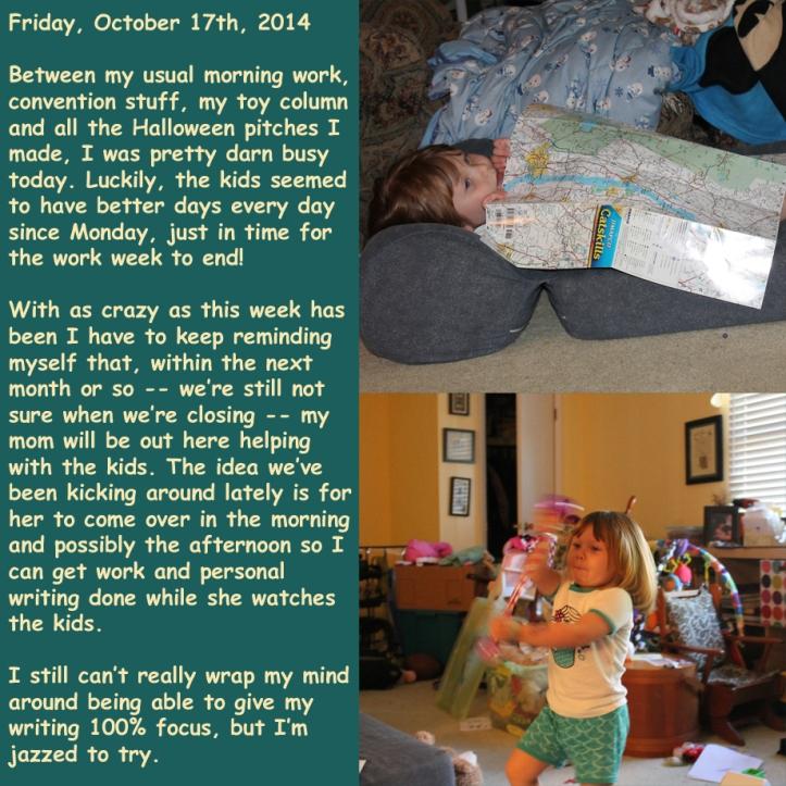 Friday, October 17th, 2014