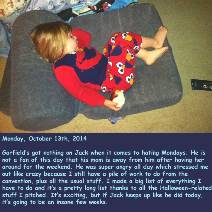 Monday, October 13th, 2014