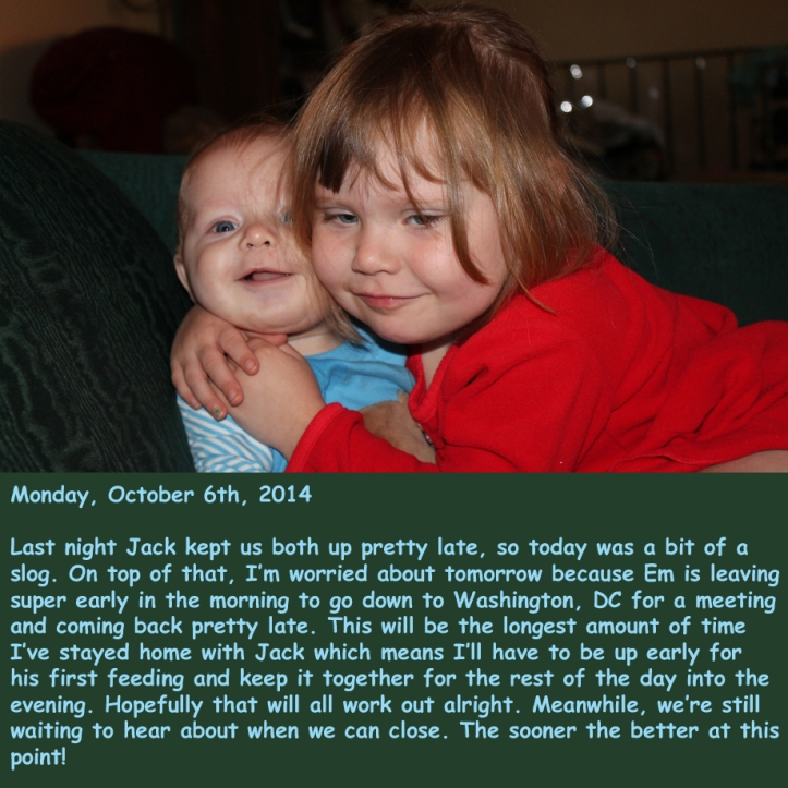 Monday, October 6th, 2014
