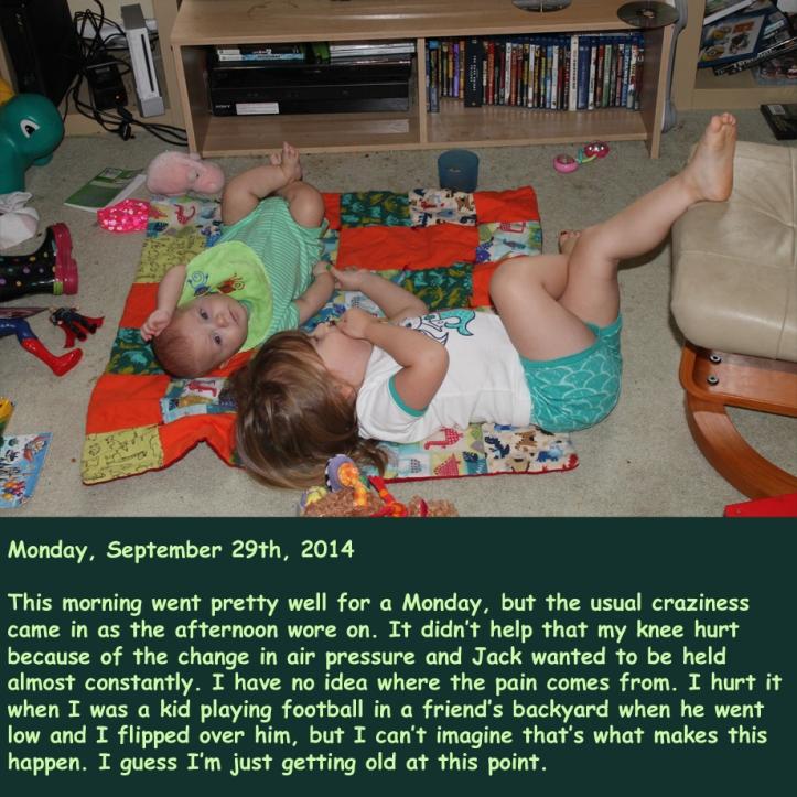 Monday, September 29th, 2014
