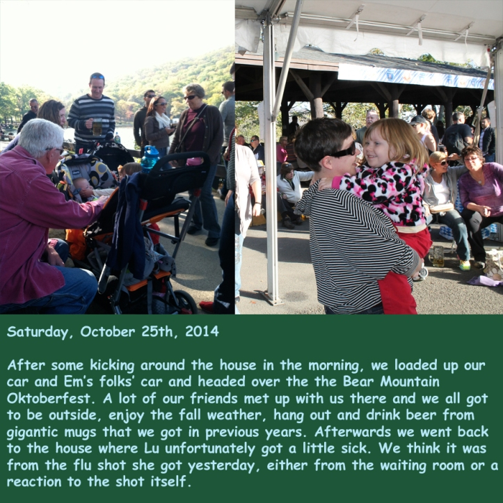 Saturday, October 25th, 2014
