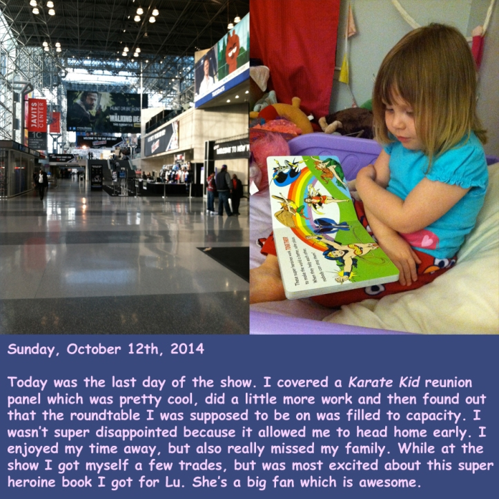 Sunday, October 12th, 2014