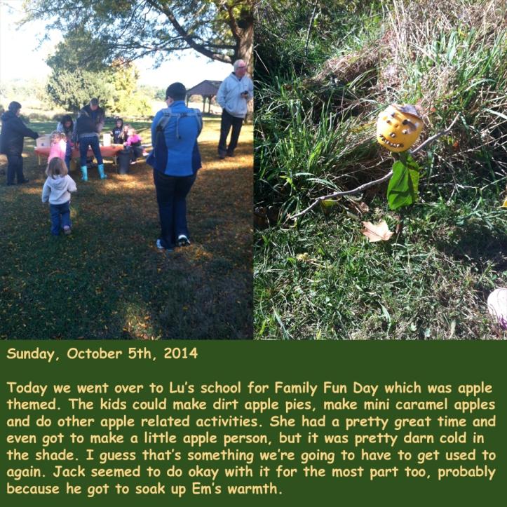 Sunday, October 5th, 2014