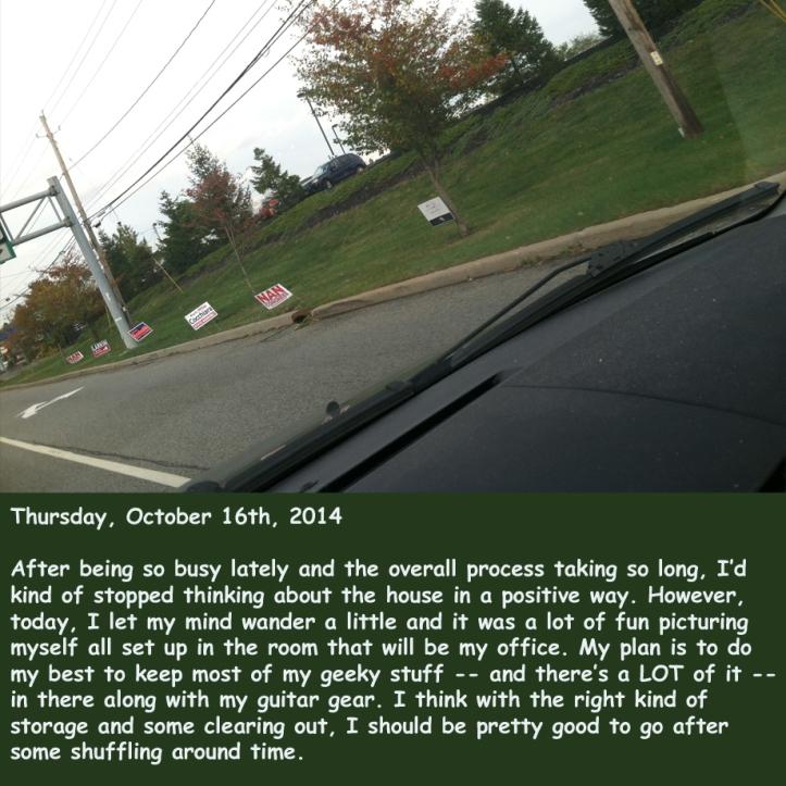 Thursday, October 16th, 2014