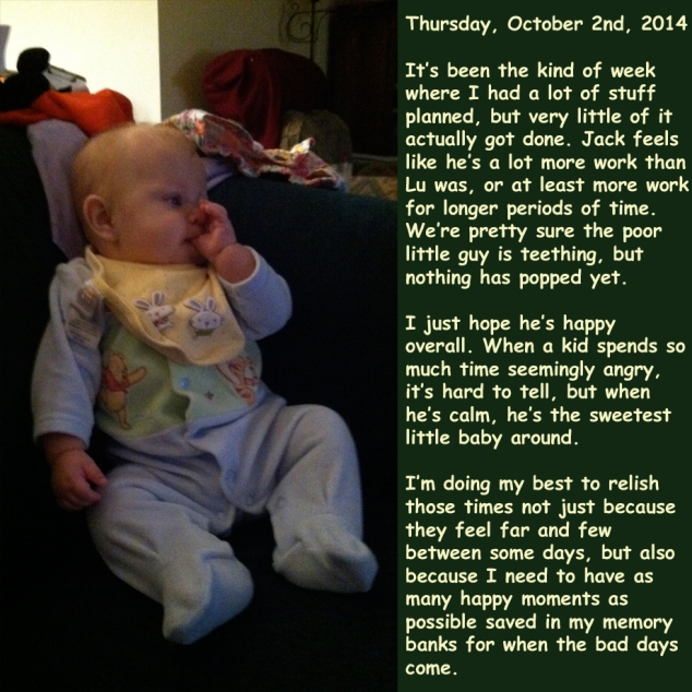 Thursday, October 2nd, 2014