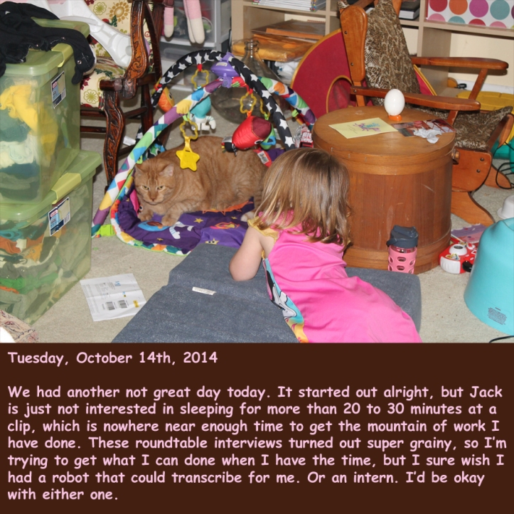 Tuesday, October 14th, 2014
