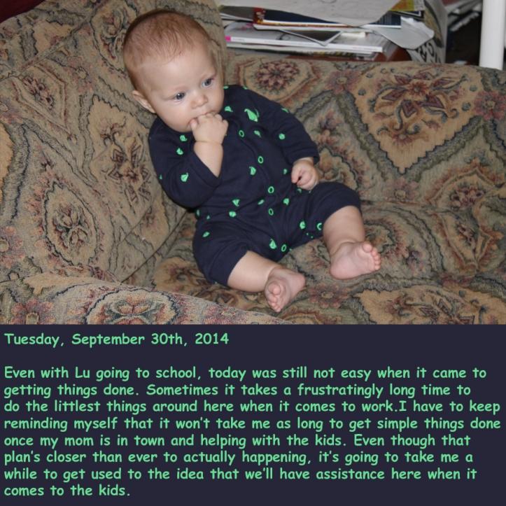 Tuesday, September 30th, 2014