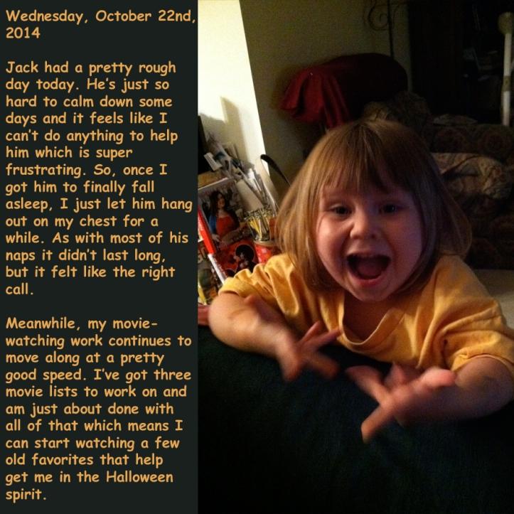 Wednesday, October 22nd, 2014