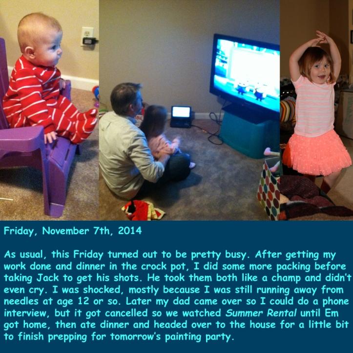 Friday, November 7th, 2014