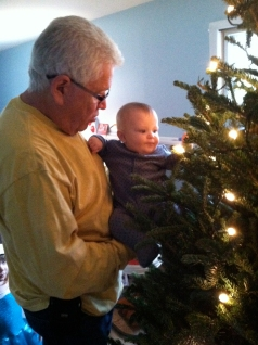 jack decorating the tree