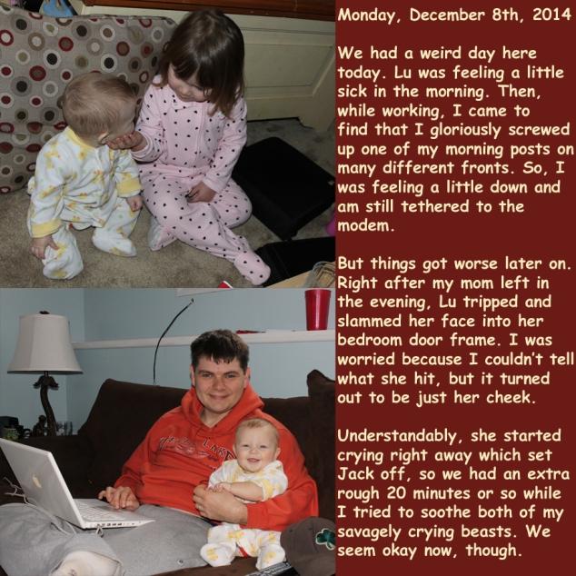 Monday, December 8th, 2014