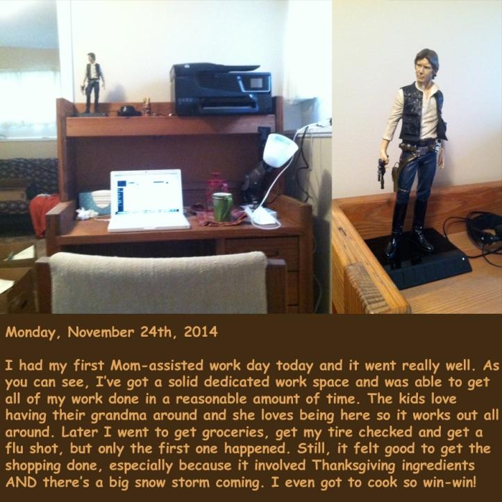 Monday, November 24th, 2014