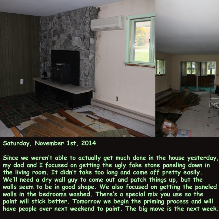 Saturday, November 1st, 2014