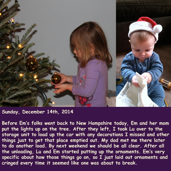 Sunday, December 14th, 2014