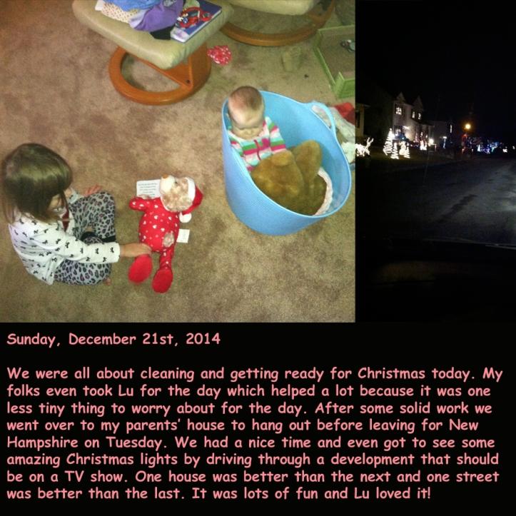 Sunday, December 21st, 2014