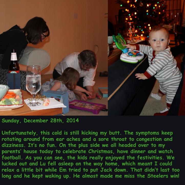Sunday, December 28th, 2014