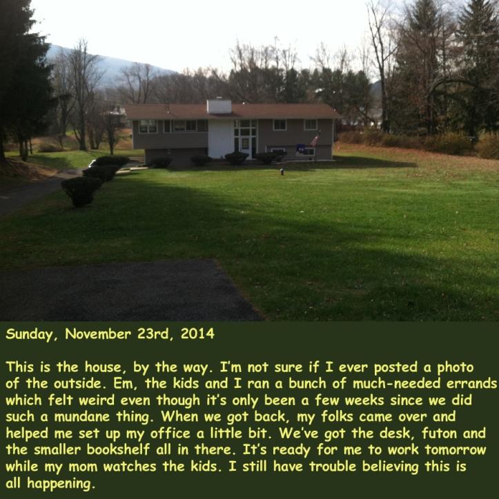 Sunday, November 23rd, 2014