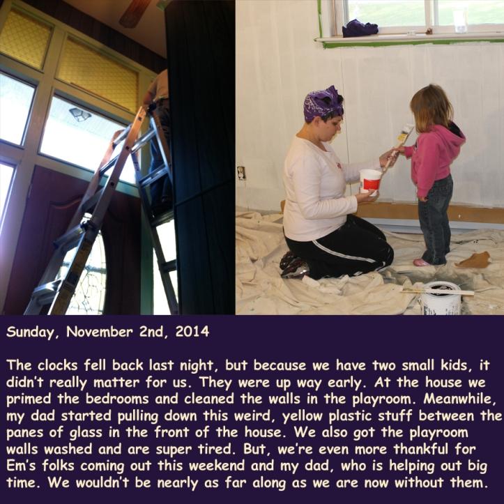 Sunday, November 2nd, 2014