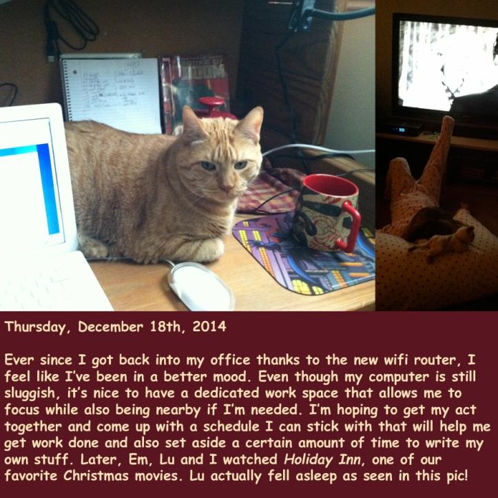 Thursday, December 18th, 2014