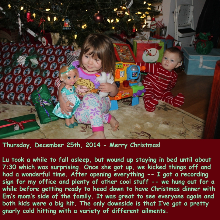 Thursday, December 25th, 2014
