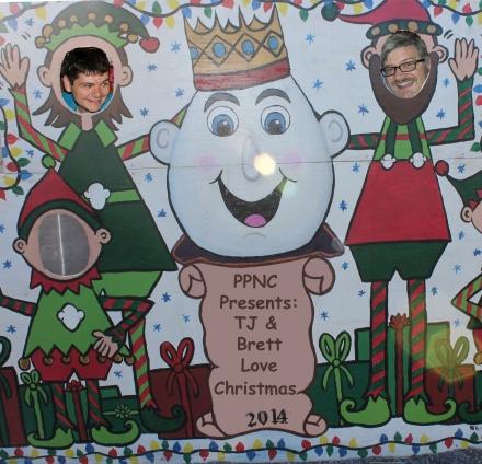 tj and brett love christmas