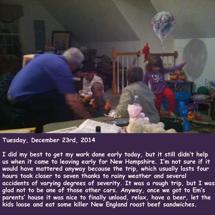 Tuesday, December 23rd, 2014