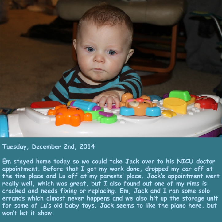 Tuesday, December 2nd, 2014
