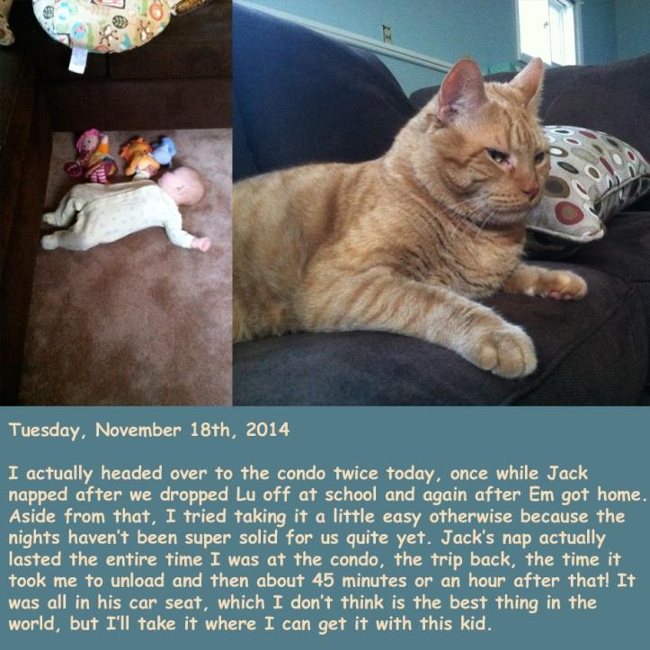 Tuesday, November 18th, 2014