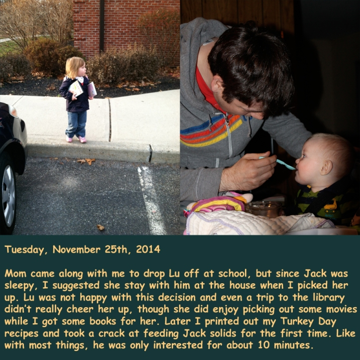 Tuesday, November 25th, 2014