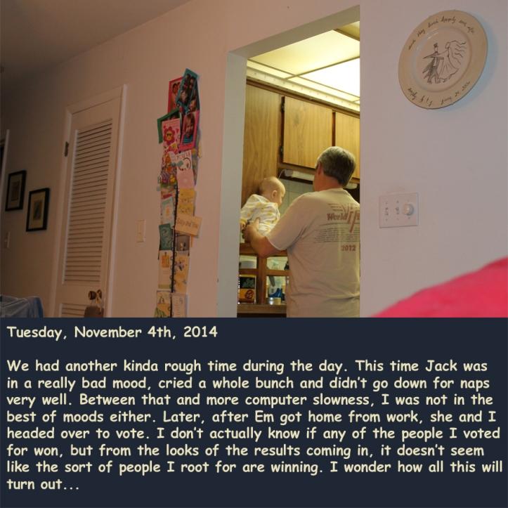 Tuesday, November 4th, 2014
