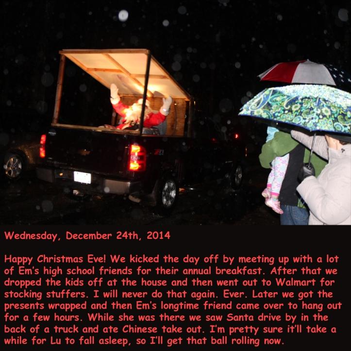 Wednesday, December 24th, 2014