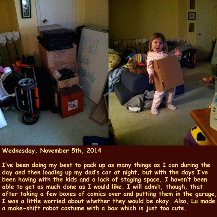 Wednesday, November 5th, 2014