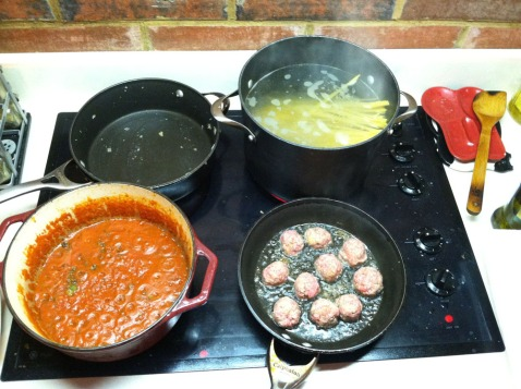 best spaghetti and meatballs 1