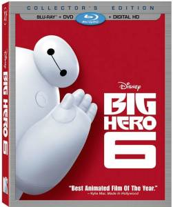 big hero six blu-ray