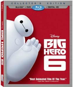 big hero six blu-ray