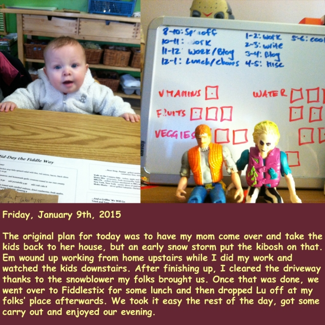 Friday, January 9th, 2015