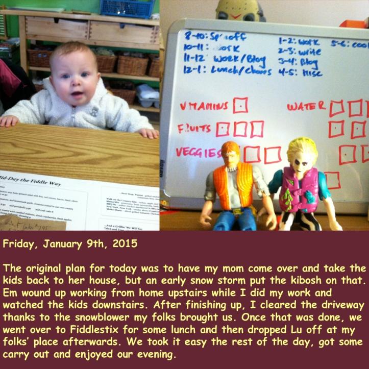 Friday, January 9th, 2015