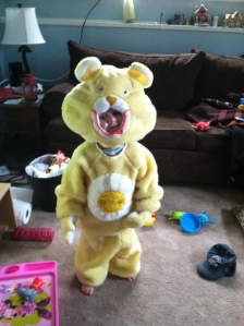 lu in care bear costume