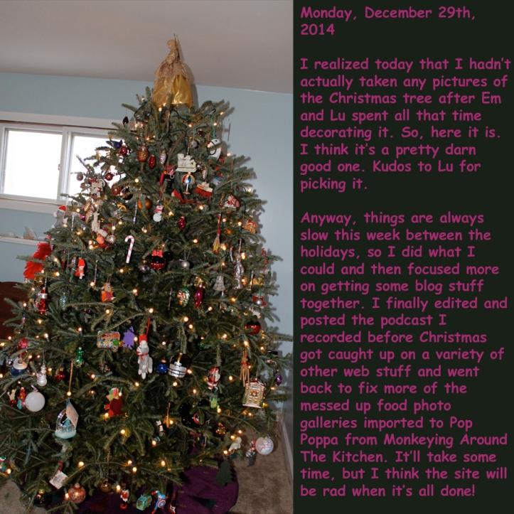 Monday, December 29th, 2014