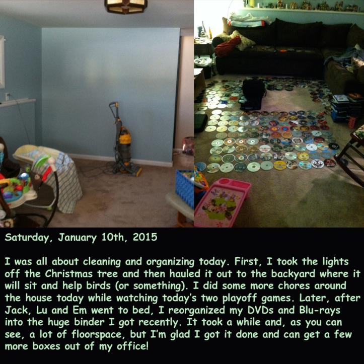 Saturday, January 10th, 2015