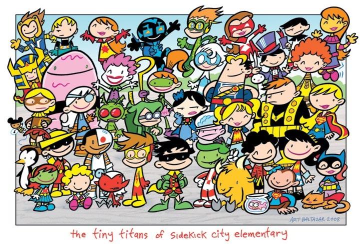 Tiny Titans class photo