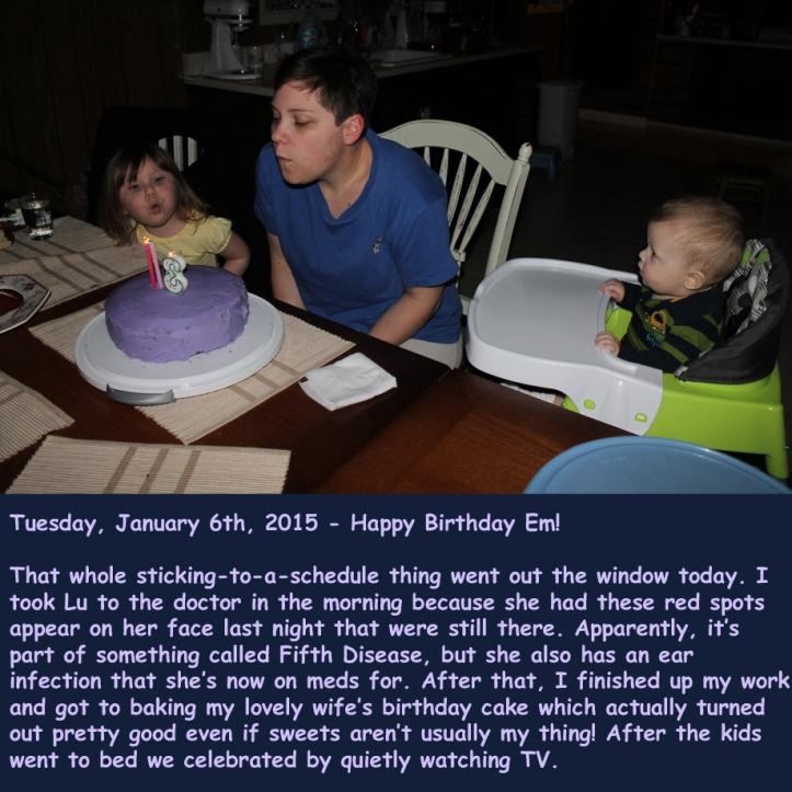 Tuesday, January 6th, 2015